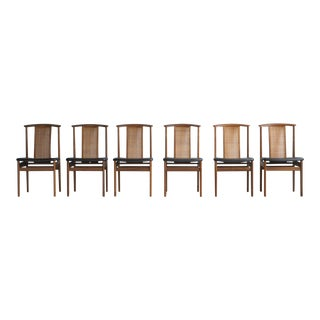 DUX Rattan Dining Chairs - Set of 6