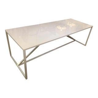 Blu Dot White Strut Dining Table