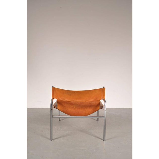 "Lounge Chair ""sz12"" by Walter Antonis for Spectrum, Netherlands, circa 1970 - Image 8 of 9"