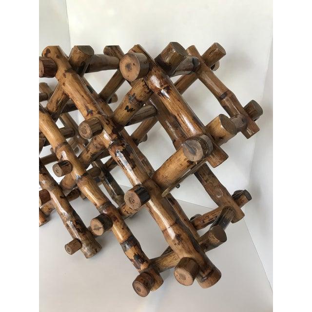 Bamboo Wine Rack - Image 2 of 4