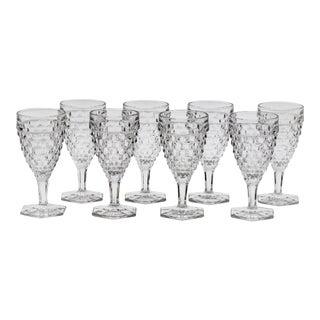 Mid-Century Fostoria Water Goblets - Set of 8