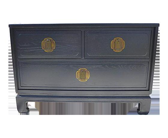Davis Cabinet Furniture Asian Style Low Dresser