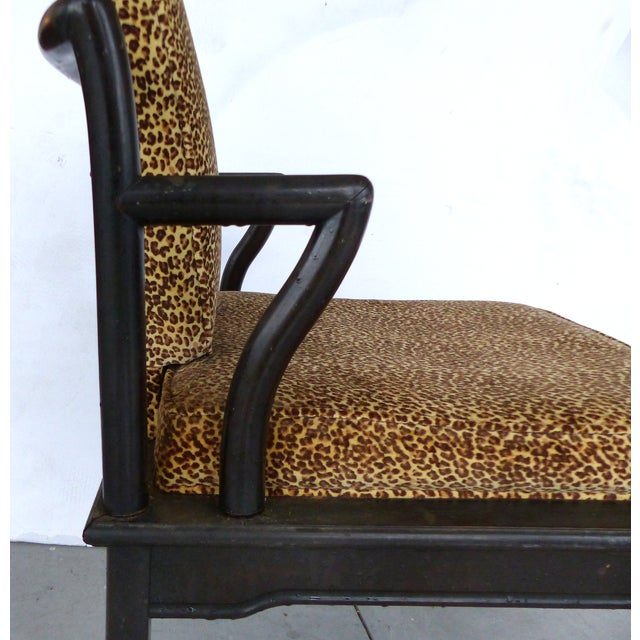Image of Hollywood Regency Chairs on Casters - A Pair