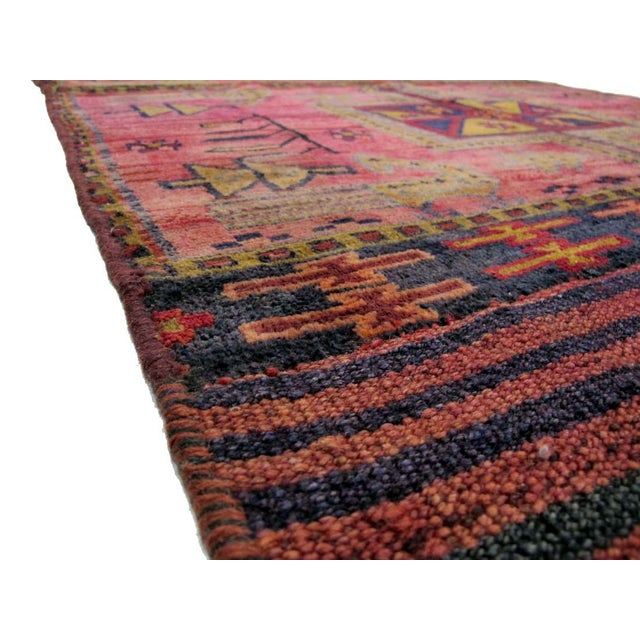 Image of Vintage Persian Tacheh Rug - 4' X 7'7""