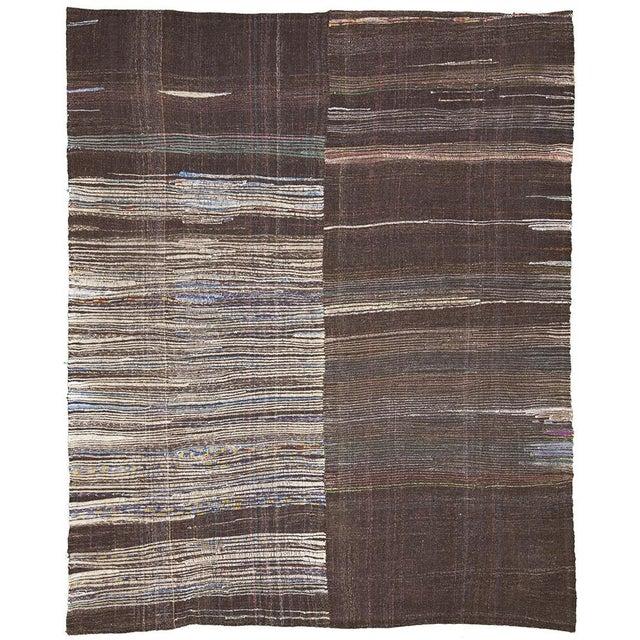 Geometric flat wqeave art deco modern rug 8 39 1 9 chairish - Deco moderne flat ...