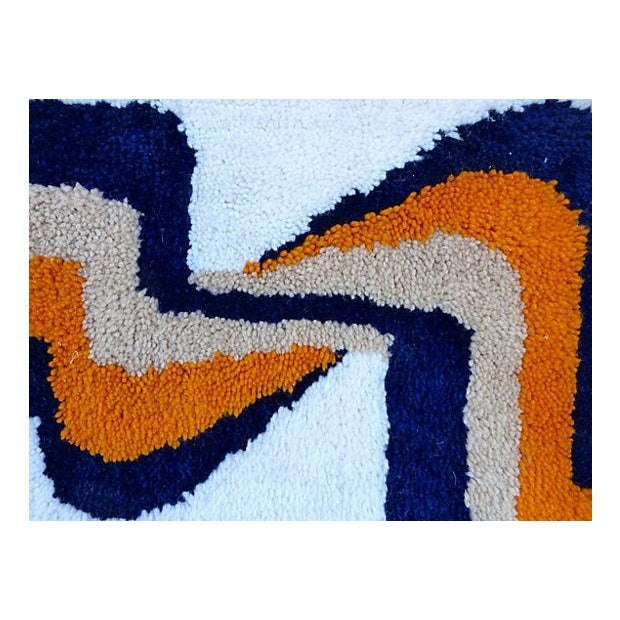 Framed Yarn Tapestry - Image 3 of 4