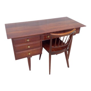 Vintage Willett Danish Modern Desk & Chair