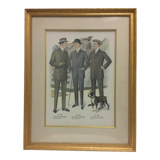 Framed Antique Clothing Line Print, 4 of 14