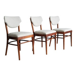 Vintage Thonet Mid-Century Dining Chairs - Set of 3