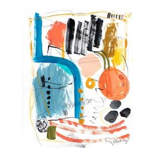 Lesley Grainger 'Gathering' Original Abstract Painting