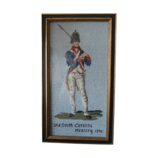 South Carolina 1776 Mountain Army Needlepoint