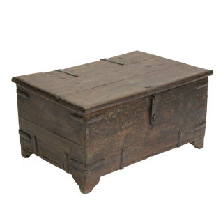 Antique Primitive Box Trunk