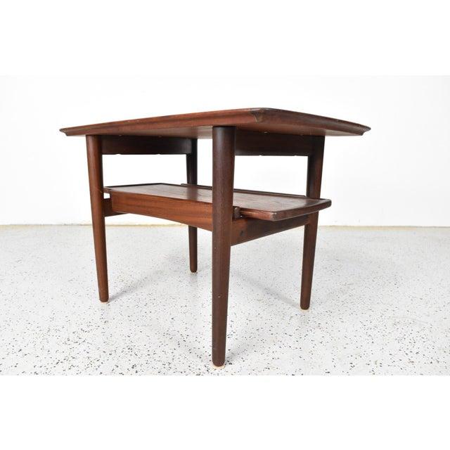 Bramin Møbler Refinished Teak Side/End Table - Image 3 of 5