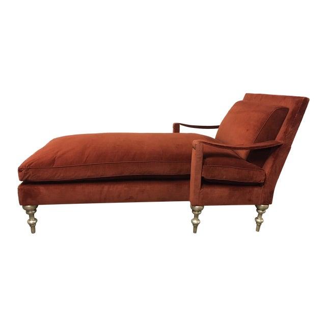 "Truex American Furniture ""Pauline Chaise"" - Image 1 of 5"