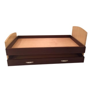 Custom-Made Berkeley Mills Twin Size Trundle Bed