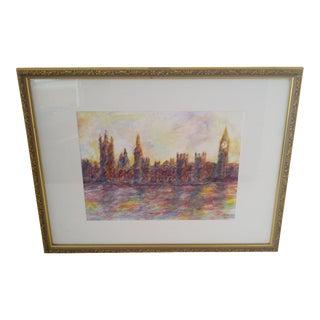"""London #2"" Original Painting by J.E. Miller"