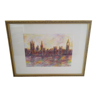 """London #2"" Original Painting by J.E. Miller"