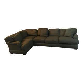 Pearson Green L-Shaped Sectional