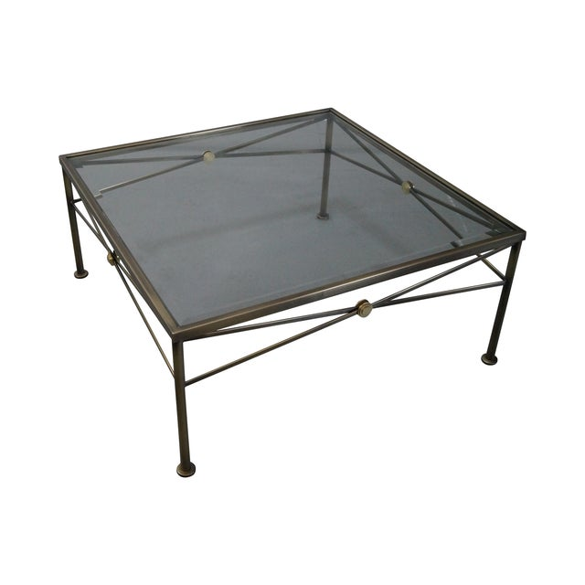 Design Institute of America Steel Coffee Table - Image 1 of 10