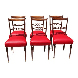 Italian Mid-Century Side Chairs - Set of 6