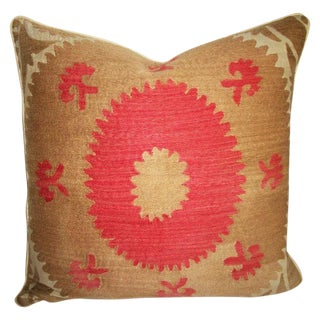 Vintage Suzani Bolinpush Accent Pillow III