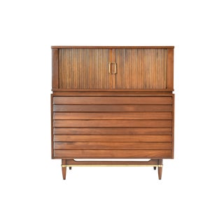 Merton Gershun for American of Martinsville Dania Highboy Chest