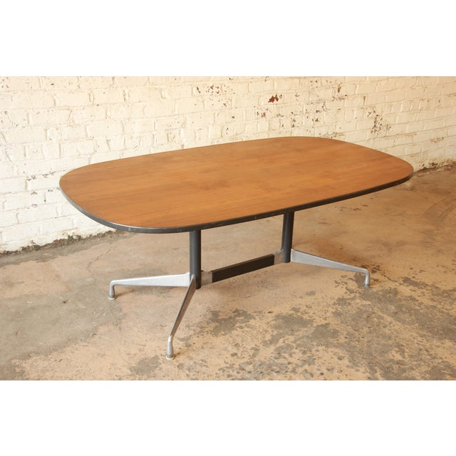 charles and ray eames dining table chairish. Black Bedroom Furniture Sets. Home Design Ideas