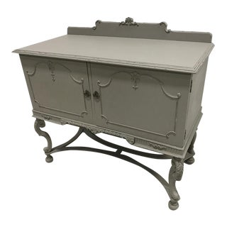 Anique Victorian Vanity Chest Cabinet