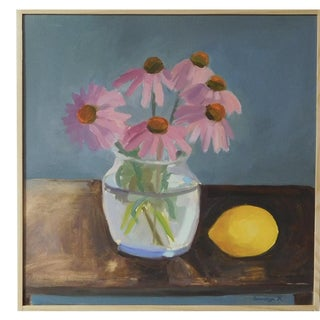 Echinacea with Lemon by Anne Carrozza Remick