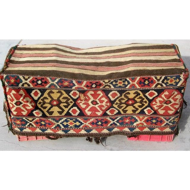 Antique Caucasian Mafrash Rug Bag - Image 3 of 5