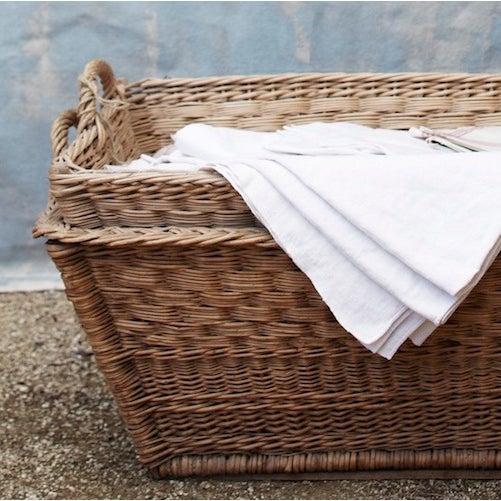 Vintage French Laundry Day Basket - Image 7 of 7