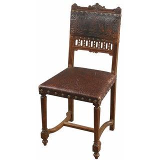 Antique French Renaissance-Style Accent Chair