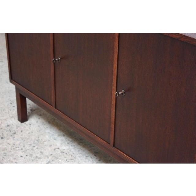 Danish Cabinet Maker Custom Oak Sideboard - Image 10 of 11