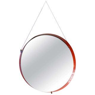 Mid-Century Italian Enameled Mirror
