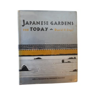 Japanese Gardens for Today Book, 1959, Illustrated