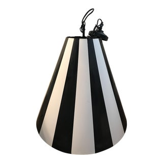 Black & White Pendant Light Fixture