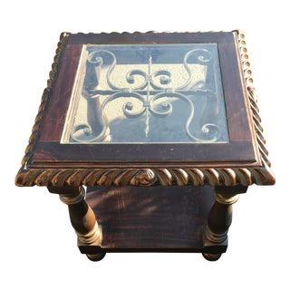 Spanish Style End Table