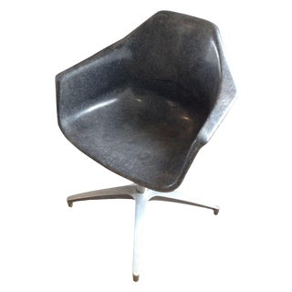 Mid-Century Eames Style Fiberglass Armchair