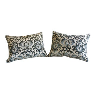 Pair of Baroque-style Throw Pillows