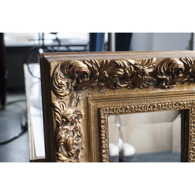 Image of Gilded Gold Wall Mirror