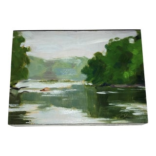 Miniature Landscape Oil Painting
