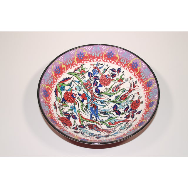 Multicolor Hand Made Turkish Bowl - Image 3 of 5