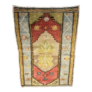 "Bellwether Rugs Vintage Turkish Oushak Small Area Rug - 2'9"" X 3'11"""