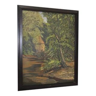Bernardus Bueninck Original Landscape Painting Circa 1920