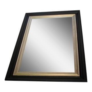 Pottery Barn Black & Gold Mirror