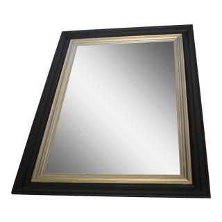 Pottery Barn Black & Gold Mirror