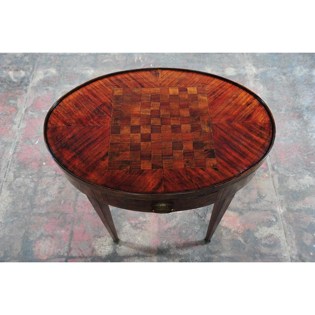 18th Century Oval Revolving Game Table - Image 8 of 10