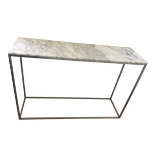 Arabescato Marble Rubik Console Table