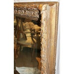 Image of Antique Gilt Gesso Mirror