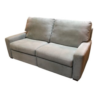 American Leather Microsuede Loveseat